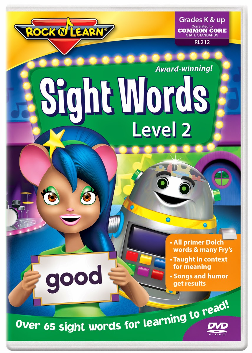 Sight Word Blocks 'n Learn Sight Words Dvd