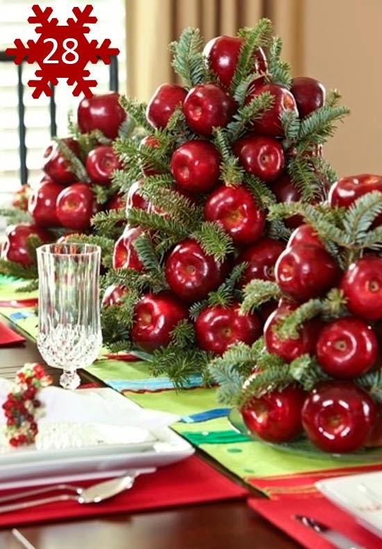 com Criatividade: Sugestões de decoração para mesa de Natal