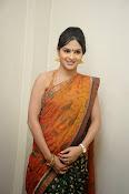 Madhumitha sizzling pics in saree-thumbnail-5