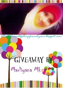 giveawa by Marliyana Mk