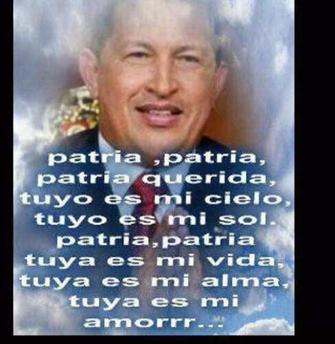 PATRIA PATRIA PATRIA QUERIDA