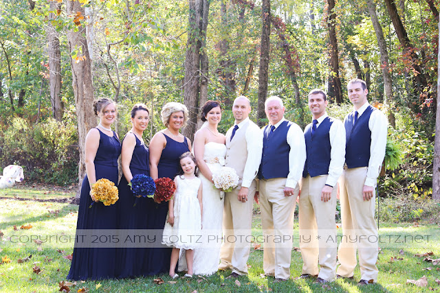photo of bridal party