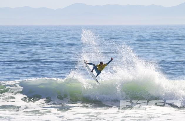 Gabriel Medina en aguas de Santa Cruz durante el O'Neill Coldwater Classic 2012 - Foto ASP