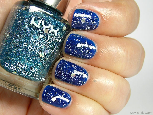 NYX Girls Nail Polish - Under the Moon over Ink Heart