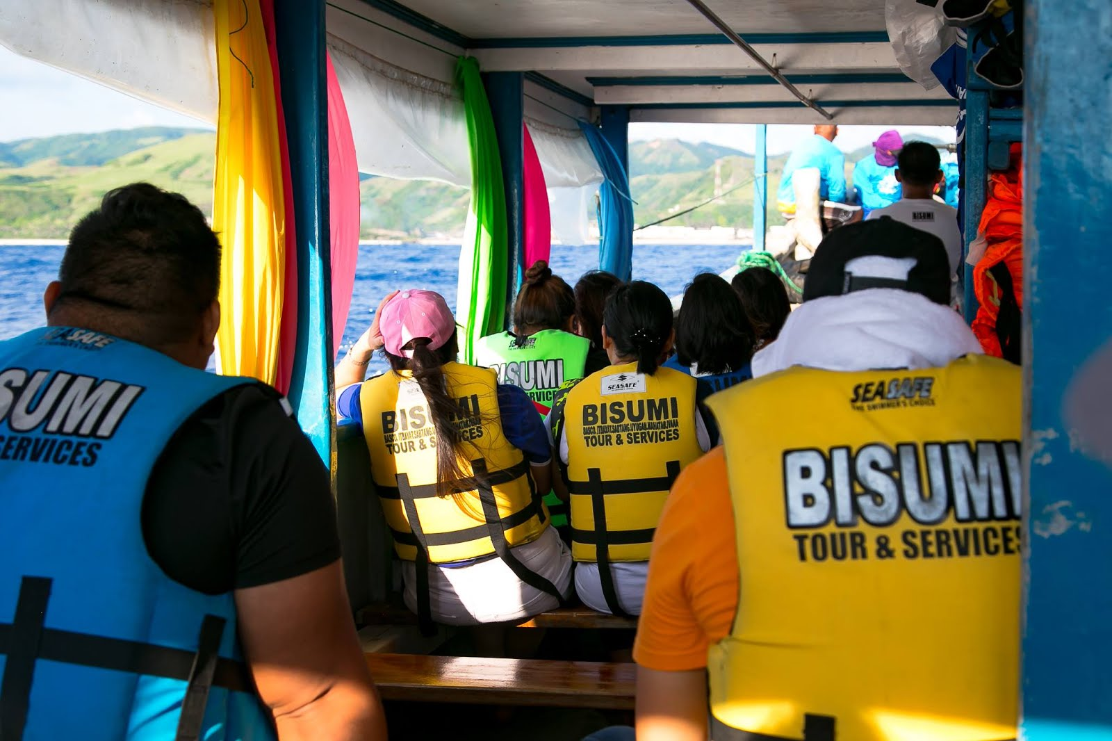 Safety first for Island Hopping