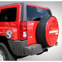 Tire Cover for Hummer H3