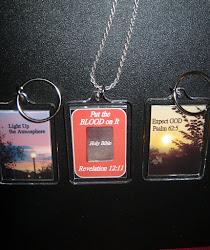Key Rings - $4.99 each - 5 or more - $3.99 each