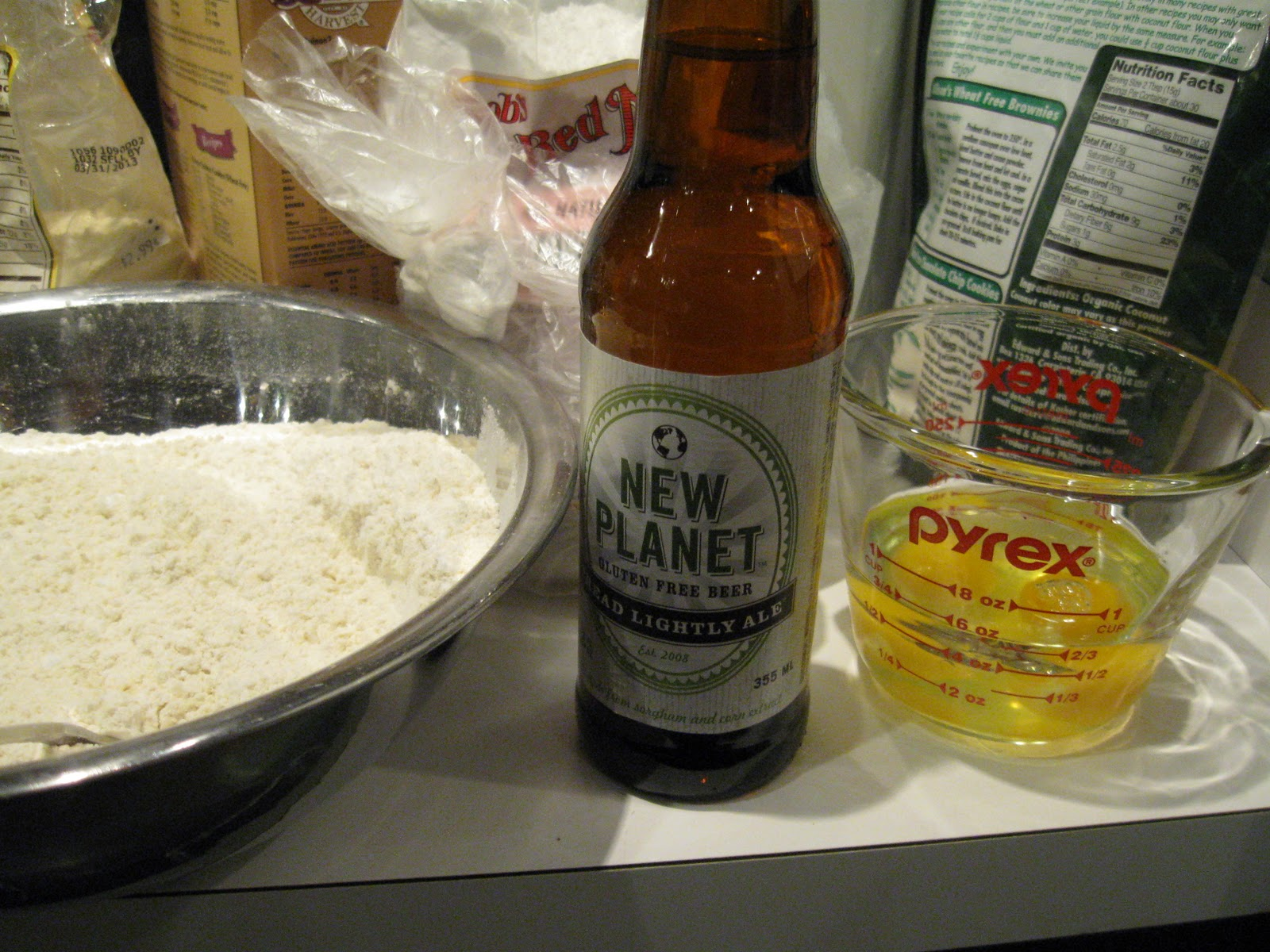 how to make gluten free beer bread