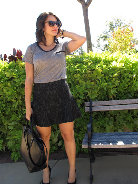 fashion, style, trends, fashion blogger, skirt, t-shirt,