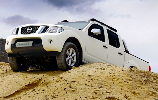 Nissan Navara New Zealand January 2012
