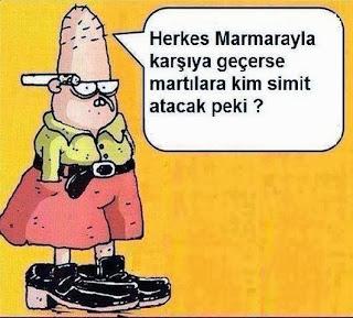 Bahattin : Marmaray Karikatürü