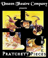 unseen theatre presents pratchett pieces three