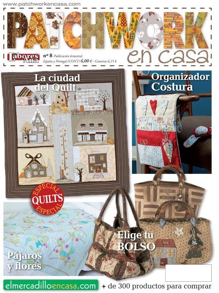 Patchwork en casa patchwork with love patchwork en casa - Casas de patchwork ...