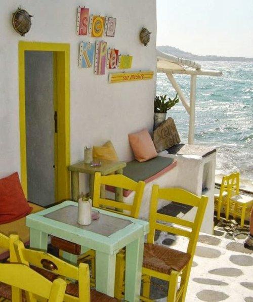 terraza colores