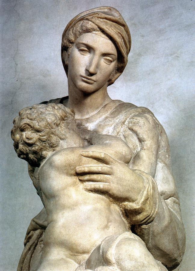 Michelangelo Buonarroti 1475-1564 | Madona Medici, 1521-1531