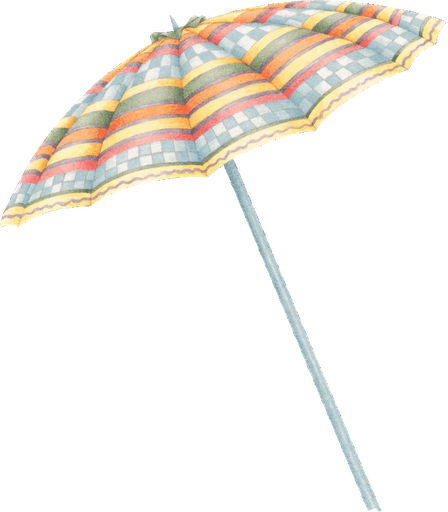Dibujos de sombrillas de playa imagenes y dibujos para for Tela para sombrillas