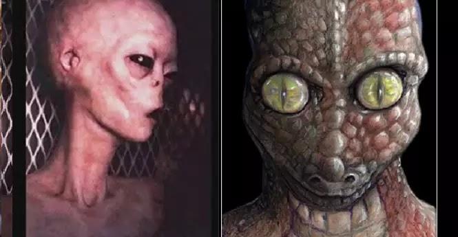 υπόγειες βάσεις που χρησιμοποιούνται από  εξωγήινους ή από κοινού από εξωγήινους και στρατιωτικούς των ΗΠΑ