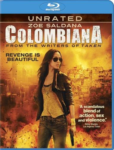 Filme Em Busca De Vingança (Colombiana)   Dual Áudio   BluRay 720p