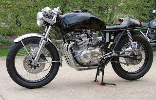Speed moto co  Honda CB550 Cafe Racer