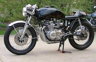 Speed moto co  Honda CB550 Cafe Racer