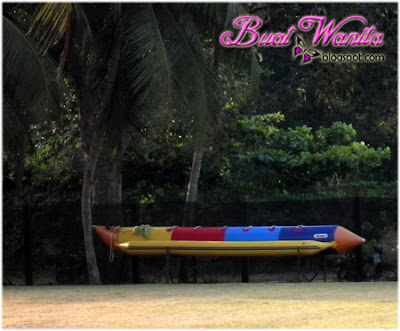 Aktiviti Menarik dan Best Yang Boleh Dilakukan Di The Legend Resort Cherating Pahang Malaysia. Banana Boat