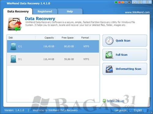 WinMend Data Recovery v1.4.1.0 + Keygen 2