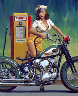 David Uhl pin up art