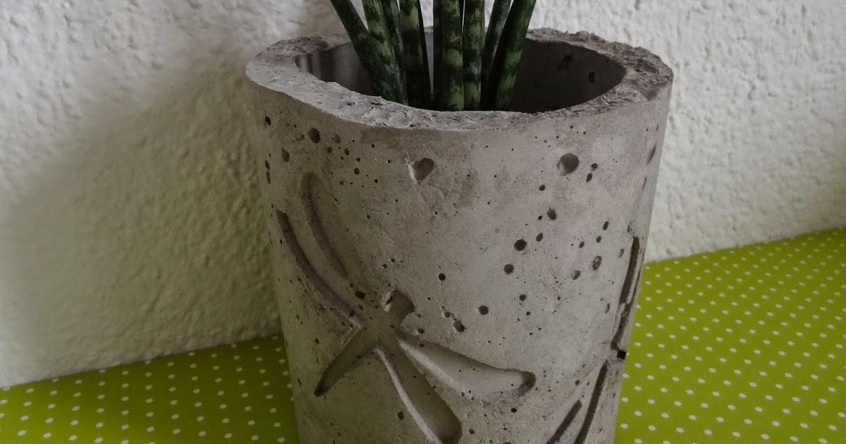 Von Herzen Blumentopf Aus Beton