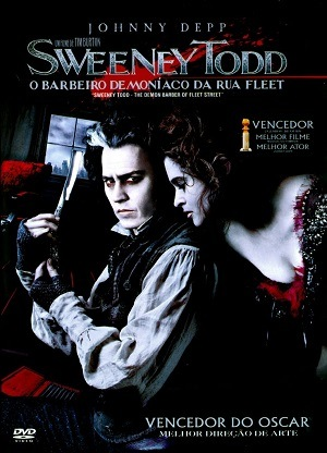 Sweeney Todd - O Barbeiro Demoníaco da Rua Fleet BluRay Filmes Torrent Download capa