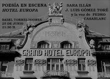 POESÍA EN ESCENA: HOTEL EUROPA