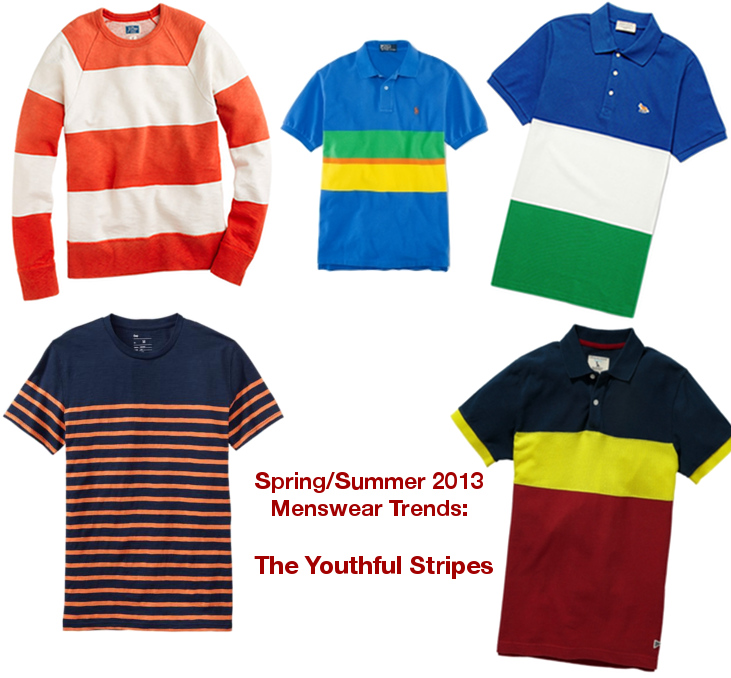 Mens spring/summer 2013 trends - stripes are cool