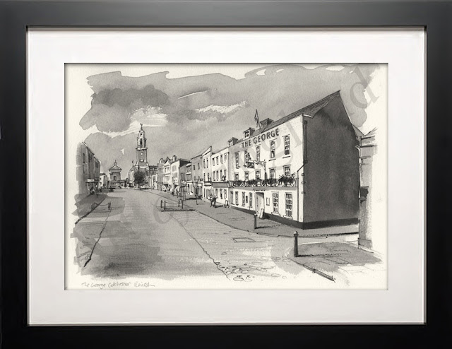 Colchester Essex drawing