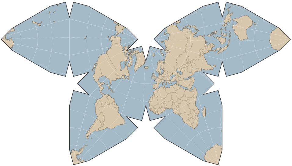 define mercator projection