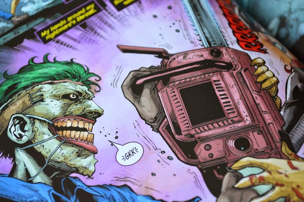 Batman Joker in comic