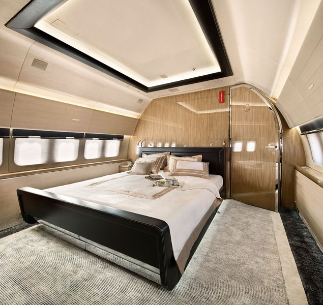 MY LUXURY NOTEBOOK: Private Boeing 737 BBJ By Alberto Pinto