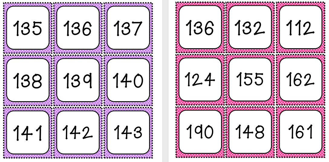 Maths worksheets ordering numbers to 100