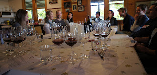 Tasting some of the best Pinot Noirs in the world