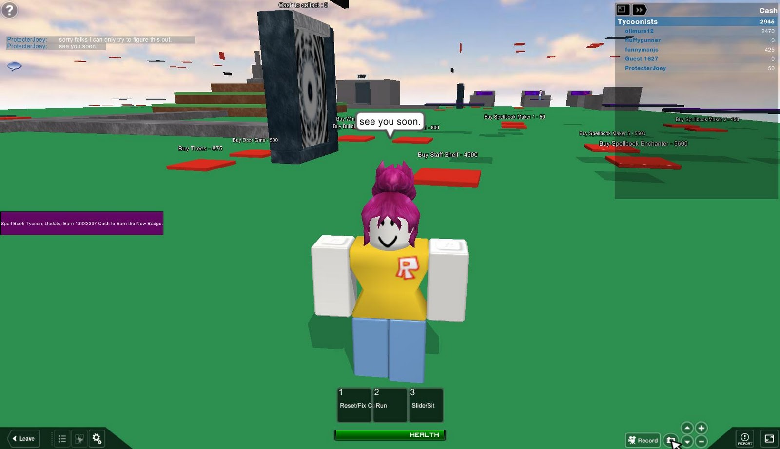 how to kill myself in roblox