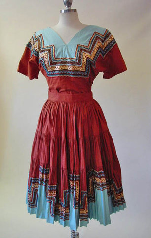 Cherokee ribbon shirt pattern