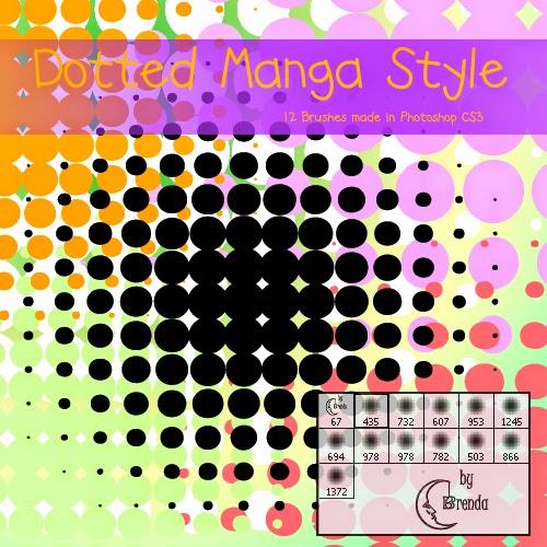 http://www.deviantart.com/art/Dotted-Manga-Style-Brushes-128567948