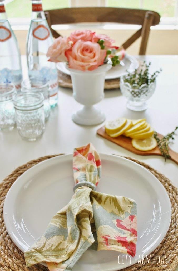 Faça Você Mesmo Sousplat com Fio de Juta decoração mesa casamento rústico