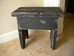 antique stepping stool...SOLD