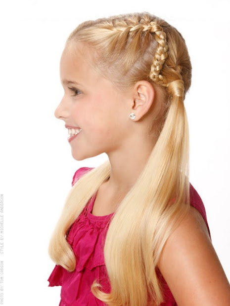 fresh child girls hairstyles