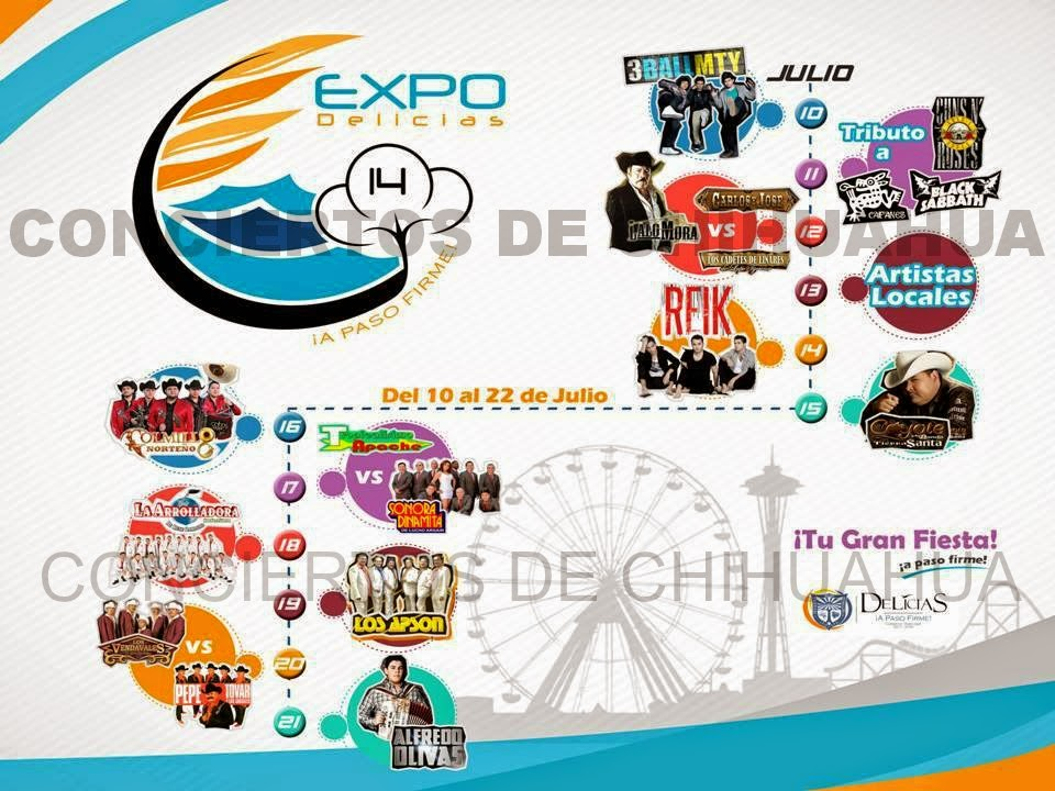 Teatro del pueblo Expo Feria Delicias 2014