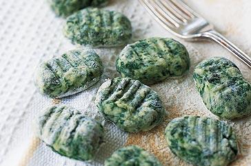 Gnocchi With Goats Cheese And Spinach Recipe Taste Com Au Recipes