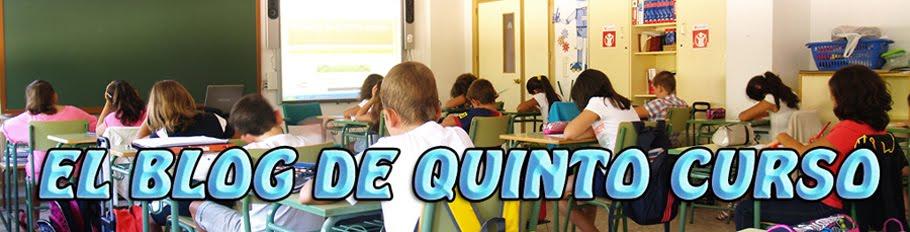 EL blog de QUINTO CURSO