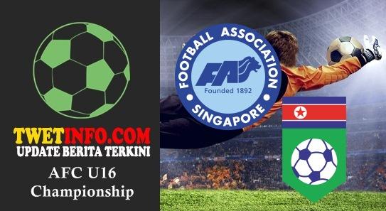 Prediksi Singapore U16 vs Korea DPR U16, AFC U16 04-09-2015