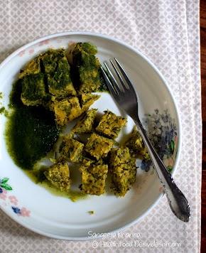 kothimbir wadi recipe   how to make kothimbir wadi in microwave and steamer