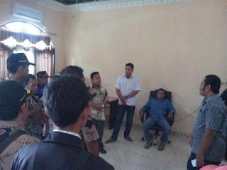 Puluhan Anggota PPK-PPS Datangi Kantor KPU PALI