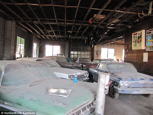 Mint Condition Antique Chevy Cars To Be Auctioned